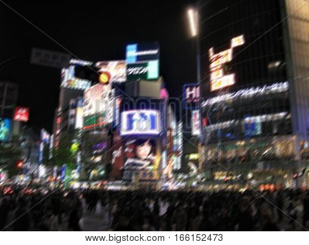 Shibuya - The Main Place Of Nightlife In Tokyo