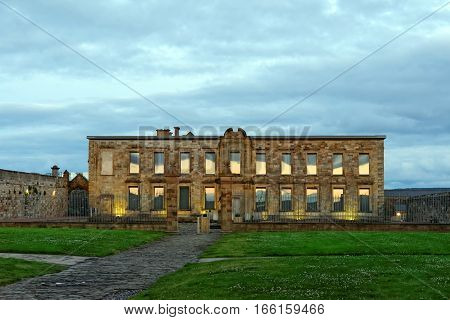 Cholmley House or Whitby Hall a banqueting house in Whitby on the North Yorkshire coast in the United Kingdom.