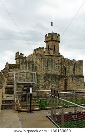 Observatory tower of the Lincoln castle - Lincoln, Lincolnshire, UK