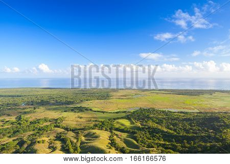 Рanoramic Landscape Of Dominican Republic