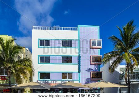 The Starlite Hotel At Ocean Drive