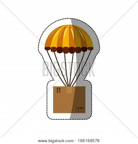 airmail shipping delivery icon vector illustration graphic design