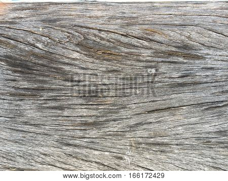 Texture of the surface wood on the floor.