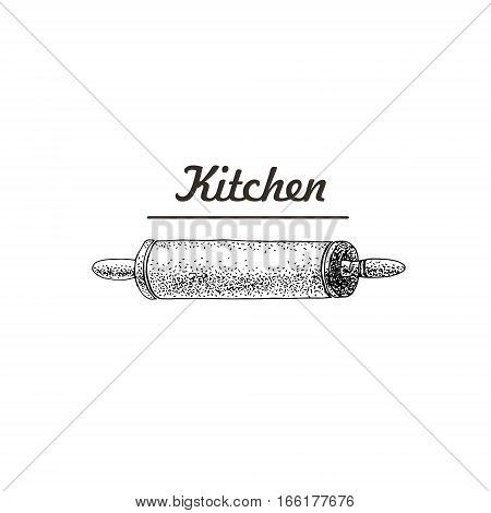 Rolling pins. Cylindrical food preparation. Used to shape and flatten dough. Cooking steps. Methods of Cooking. Process of cookery. Eps