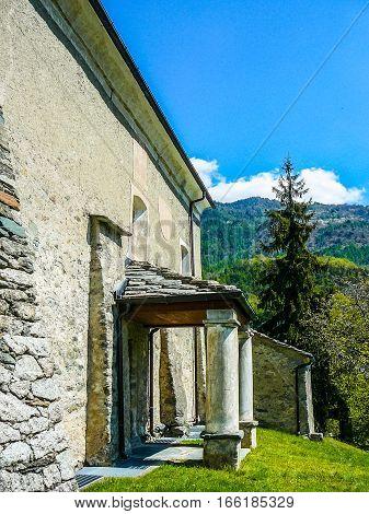 Hdr San Maurizio Di Moron Church In St Vincent