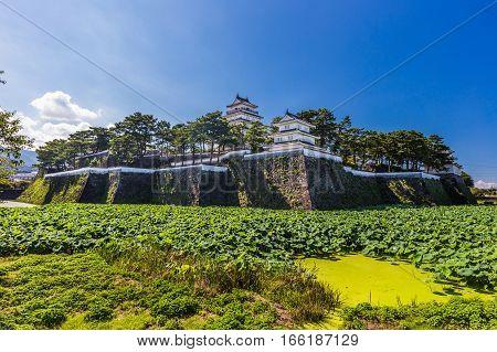 Shimabara castle famous attraction in Nagasaki Prefecture Kyushu