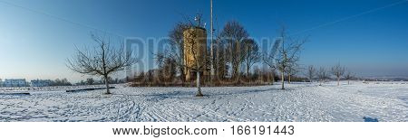 Winter Panorama In Bavaria, Germany
