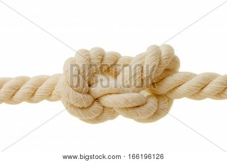 the eight knot on a white background
