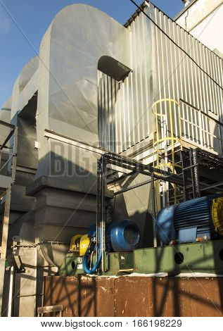 dust collector with fans for boiler coal for boiler coal