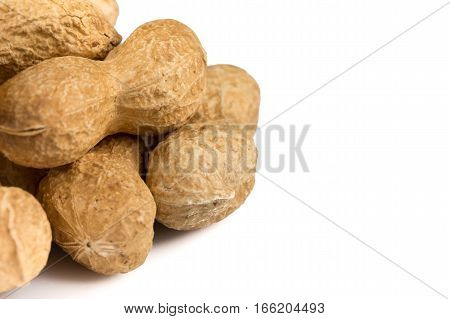Pile Of Peanuts Close Up