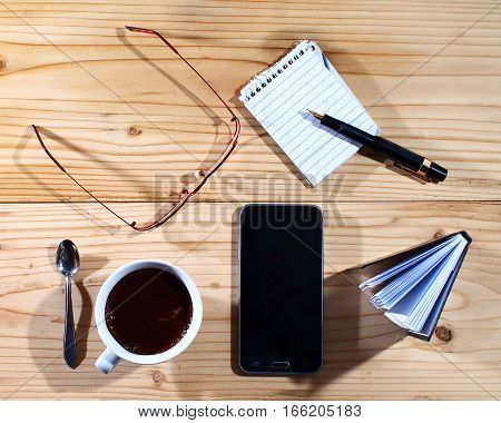 Coffee break - working hours - relax - business
