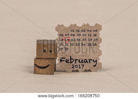 Calendar For February 2017