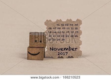 Calendar For November 2017