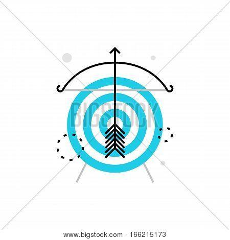Targeting Monoflat Icon.