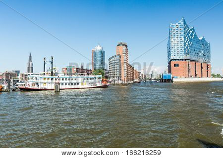 The Elbphilharmonie Building In The Port Of Hamburg