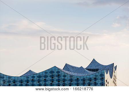 The Elbphilharmonie Building In The Port Of Hamburg