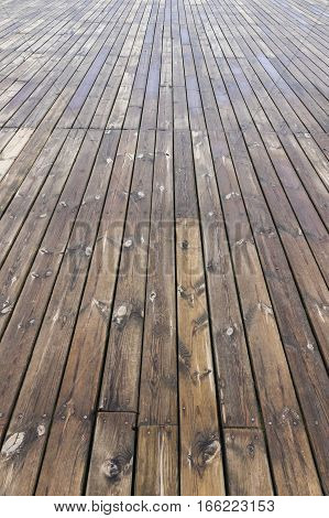 Old Wooden Brown Background Texture
