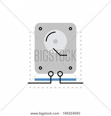 Recovery Monoflat Icon.