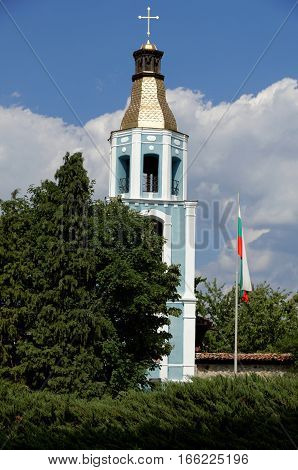 The Church of the Holy Mother of God a National Revival church in the town of Panagyurishte Bulgaria.
