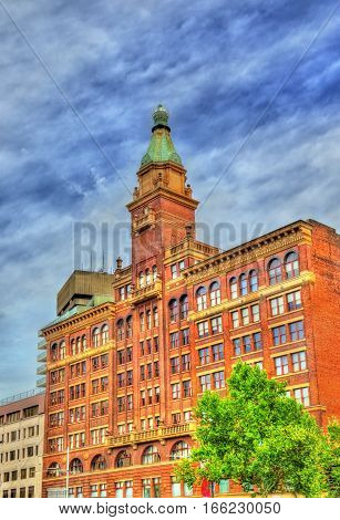 Buildings on Railway Square in Sydney- Australia, New South Wales