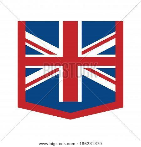 australian flag official emblem icon vector illustration eps 10