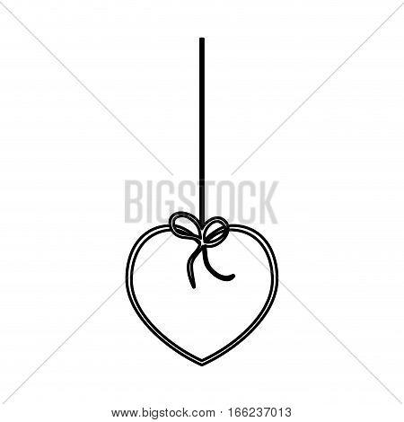 Romantic heart concept icon vector illustration graphic design