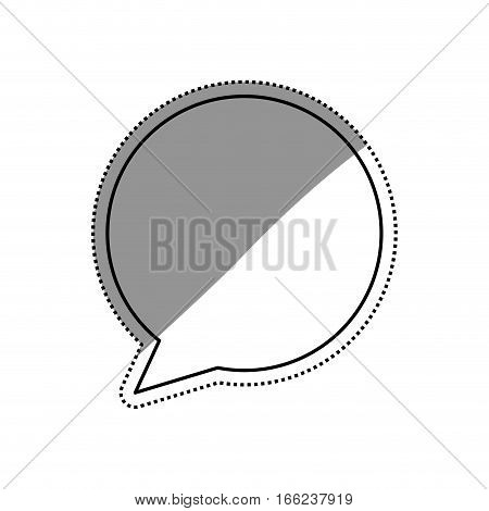 Chat bubble speakbox icon vector illustration graphic design