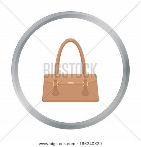 Women bag icon of vector illustration for web and mobile design - stock vector