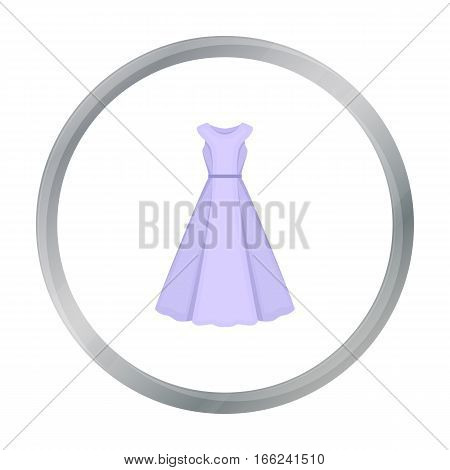 Dress icon of vector illustration for web and mobile design - stock vector