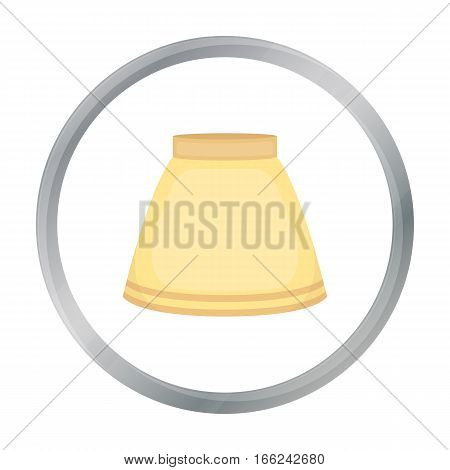 Skirt icon of vector illustration for web and mobile design - stock vector