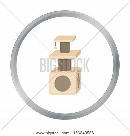 Cat houses icon of vector illustration for web and mobile design - stock vector