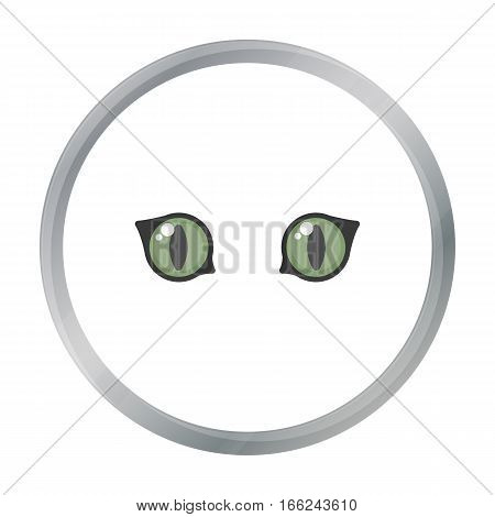 Cat eyes icon of vector illustration for web and mobile design - stock vector