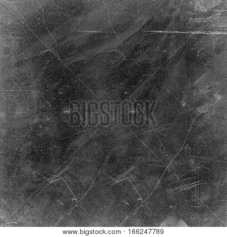 Vintage Background Texture with Grunge Scratches in Black and Greay