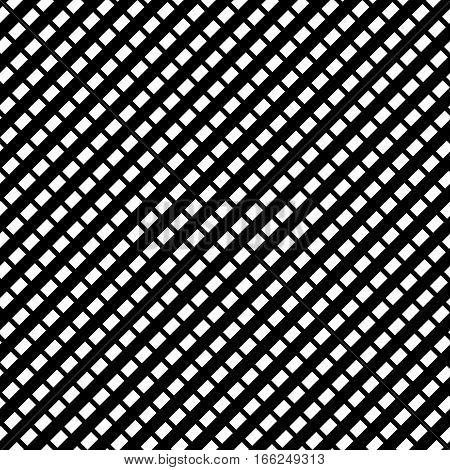Repeatable Grid, Repeatable Mesh With Rectangular Cells. Cellular, Reticulate Lattice Pattern.