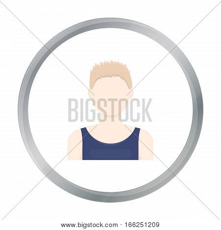 Boy icon cartoon. Single avatar, peaople icon from the big avatar cartoon. - stock vector