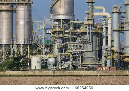 Chemical Industry Plant, Thailand