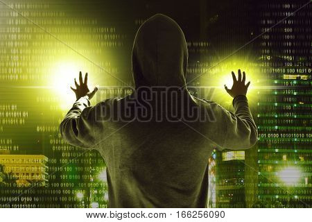 Mysterious unknown hacker stealing data from computer