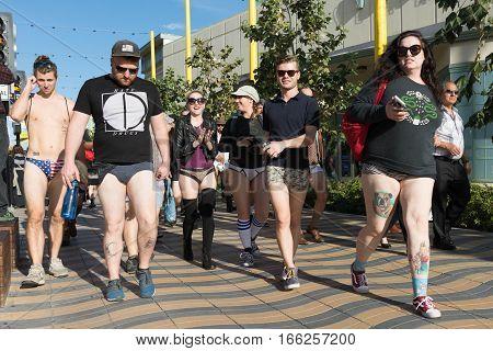 Participants Without Pants