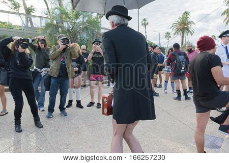 Man Without Pants