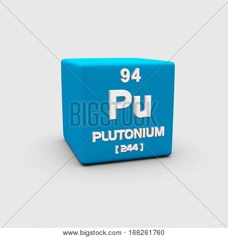 Plutonium is a transuranic radioactive chemical element with symbol Pu and atomic number 94.