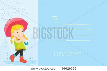 postcard (vector image also available in portfolio)