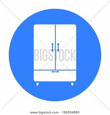 Cupboard icon of vector illustration for web and mobile design