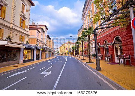 Town Of Opatija Historic Street View