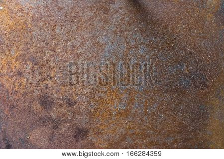 Rust texture of corroded metal in high resolution