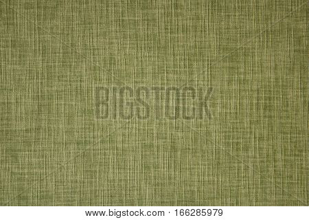 Plain khaki fabric for background, cotton textile