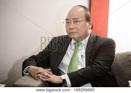 Prime Minister Of Vietnam Nguyen Xuan Fukom