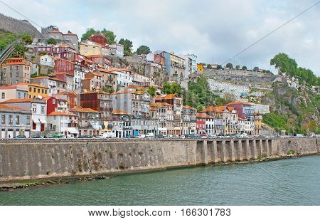 The Houses Of Old Porto