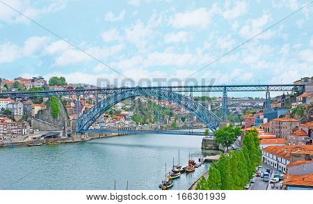 The Bridge Between Porto And Gaia