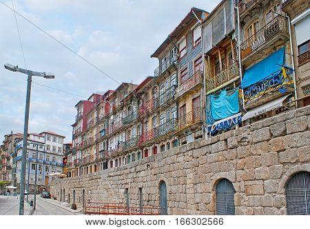 Embankment Of Douro River