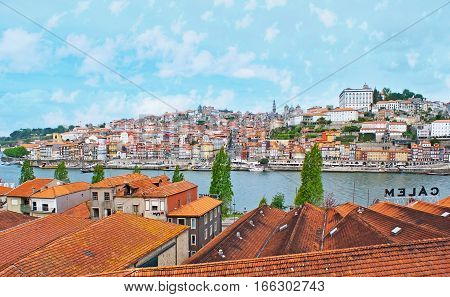 The City On Douro River